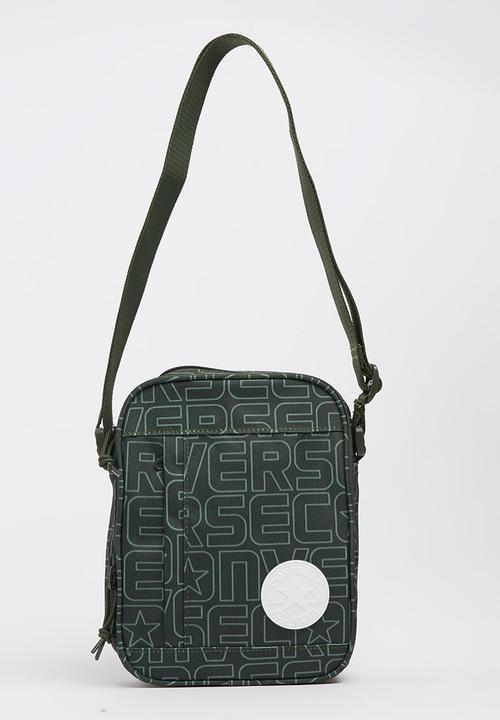8a426a7b63 Converse Cross-body Bag Khaki Green Converse Bags   Purses ...