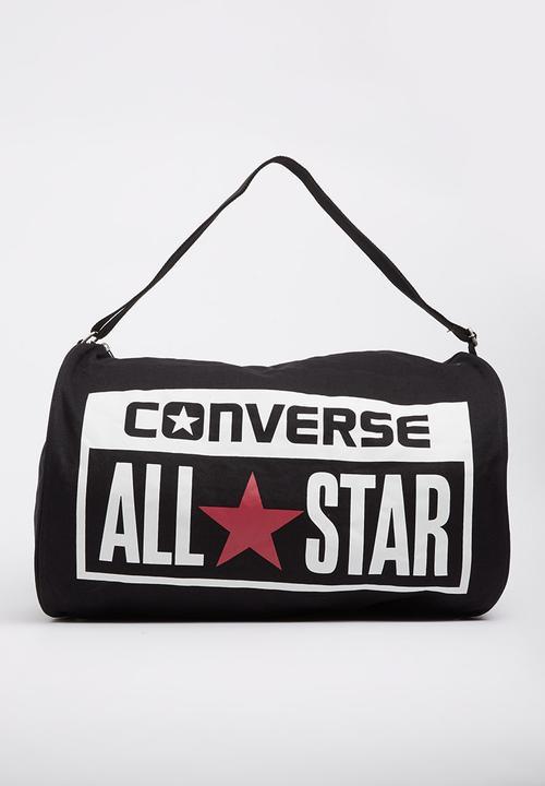 33db9185ab Converse Legacy Barrel Duffel Bag Black Converse Bags   Purses ...