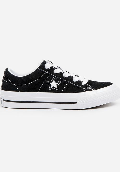 ea5d11dc2dee64 One Star OX Sneaker Black Converse Shoes