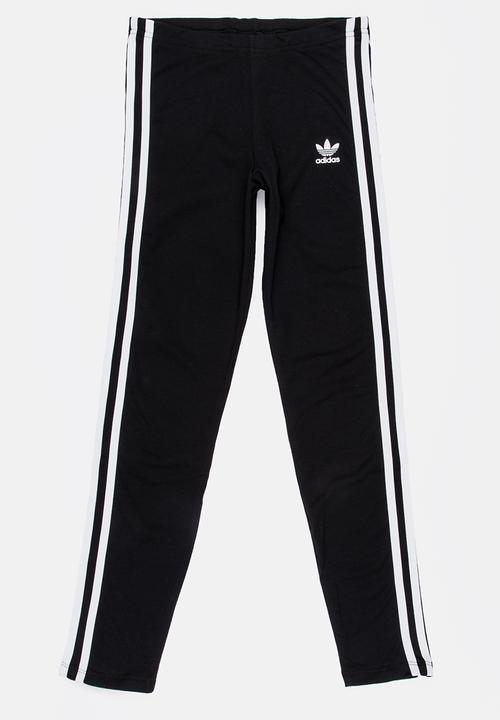 a0ad1ae60911dd 3 stripes leggings - black/white adidas Originals Pants & Jeans ...