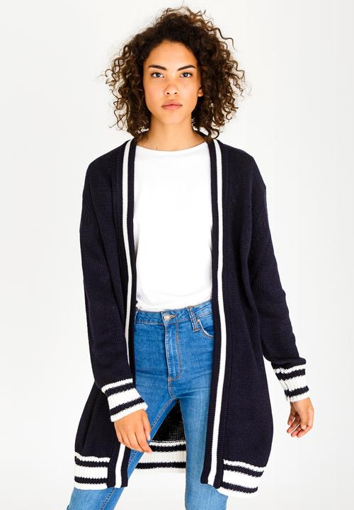 c(inch) - Sports Luxe Cardigan Navy