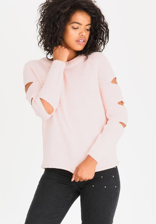 0013455b7ce9ef Cut-out Detail Jumper Rose Tokyo Laundry Knitwear | Superbalist.com