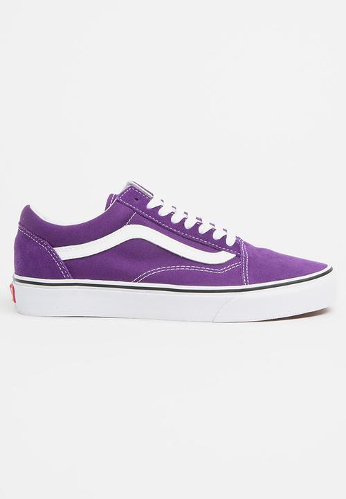 b1f61296d2c2 Old Skool Sneakers Dark Purple Vans Sneakers