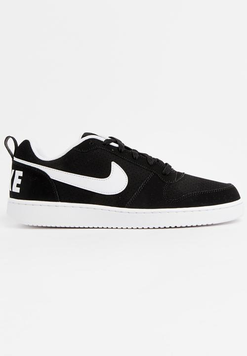 d3c9dfb8231 Nike Court Borough Low Sneakers Black and White Nike Sneakers ...