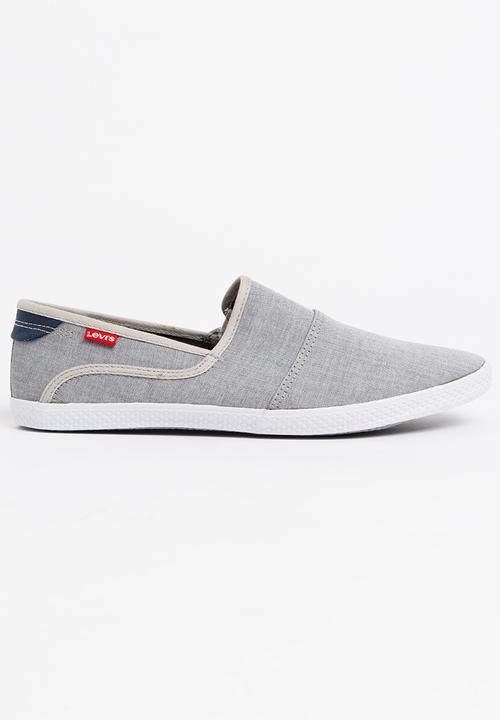 Clio Slip On Sneakers Grey Levi's