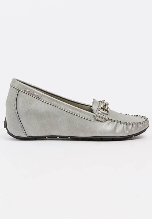 dcd969c88b22 Buckle Detail Loafers Dark Grey Bata Pumps & Flats | Superbalist.com