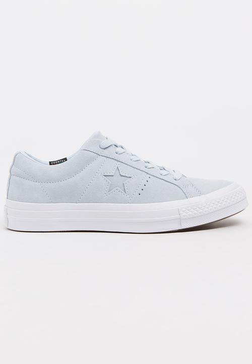 8225d15f7df1 Suede One Star Sneakers Pale Blue Converse Sneakers