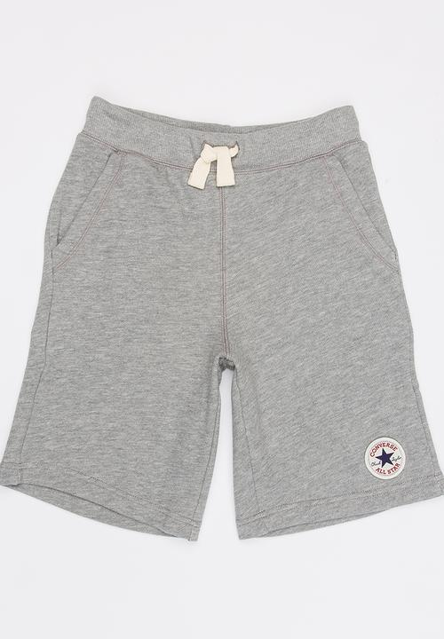 9d1272e81d53 Core French Terry CPT Short Grey Converse Pants   Jeans ...