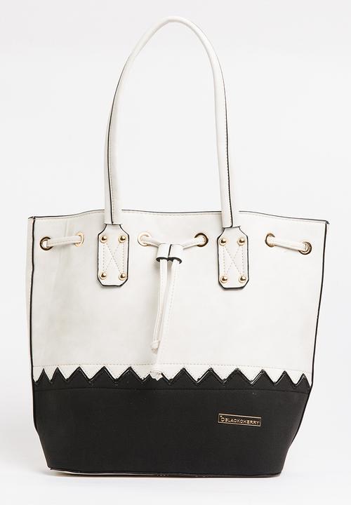 ea88c45cb1 Two-tone Bucket Bag Off White BLACKCHERRY Bags   Purses ...