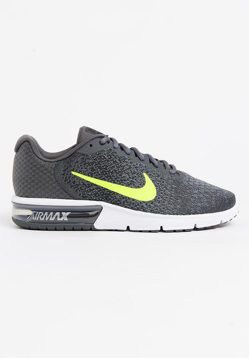 4d209d1cf88 Nike Air Max Sequent 2 Runners Grey Nike Trainers