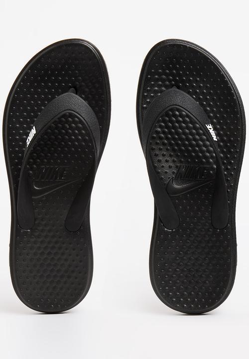 3686b5d8a104 Nike Solay Thong Flip Flop Black Nike Sandals   Flip Flops ...