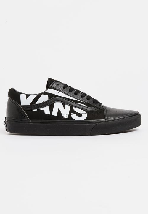 e75bf136bff4 Vans Old Skool Sneakers Black and White Vans Sneakers