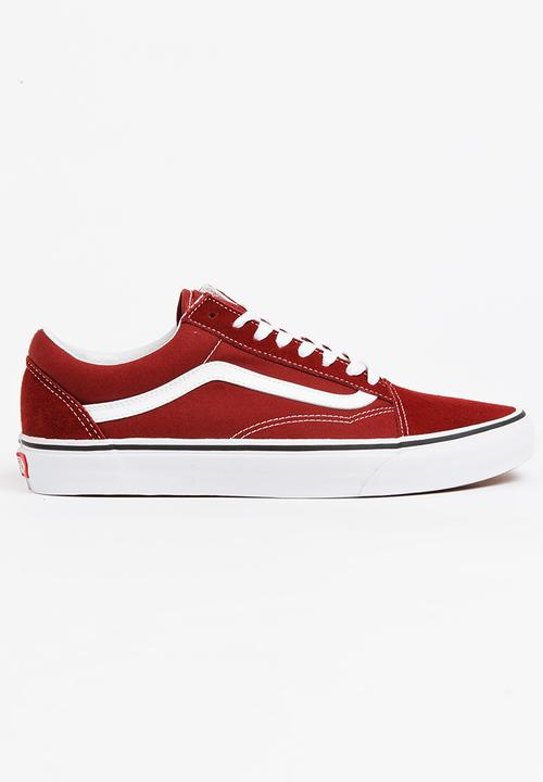 1b20c7fb8401cb Old Skool Sneakers Maroon Vans Sneakers