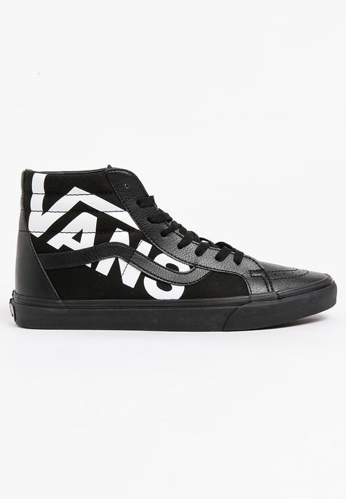 44fa04126f Vans Sk8-Hi Reissue Sneakers Black and White Vans Sneakers ...