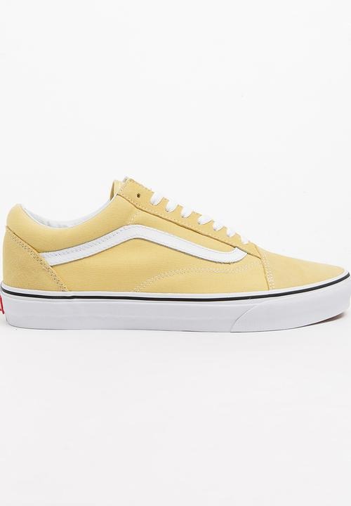 10e00d98c08 Old Skool Sneakers Yellow Vans Sneakers