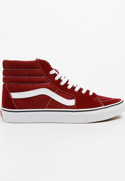 af2d0e30f68d Sk8 Hi Top Sneakers Maroon Vans Sneakers