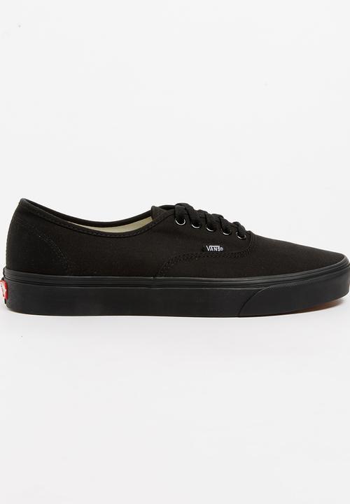 6dadfb2b56 Authentic Sneaker Black Vans Sneakers