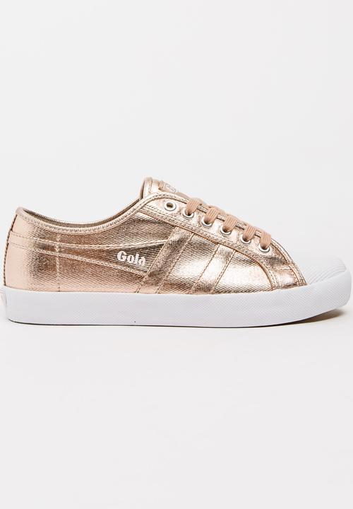 26e4105f679f Coaster Metallic Sneakers Rose gold Gola Sneakers