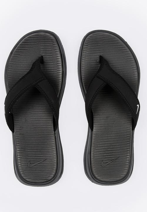 e21ac2efe61 Nike Ultra Celso Thong Flip Flops Black Nike Sandals   Flip Flops ...