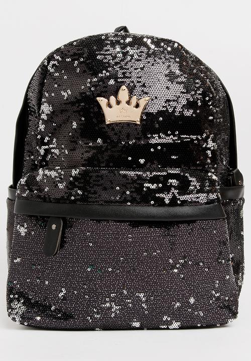 5cc25f1df13aa5 Girls Sequins Backpack Black POP CANDY Accessories | Superbalist.com