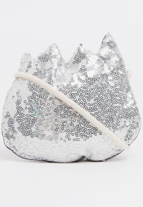 6213d3253f05db Girls Sequin Bag Silver POP CANDY Accessories | Superbalist.com