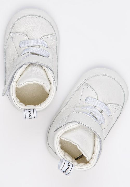5th Avenue High Top Sneaker White Shooshoos Shoes