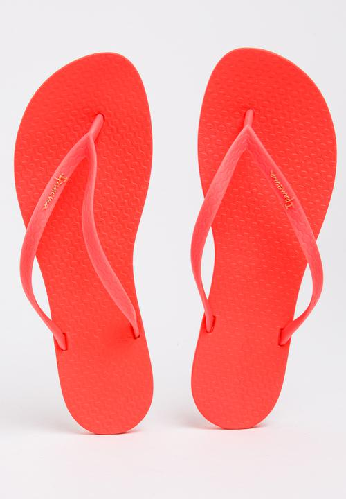 370a59ac0f1bf1 Wave Fem Flip-flops Coral Ipanema Sandals   Flip Flops