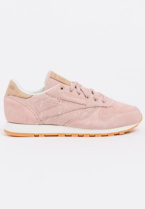 Classic Leather EBK Pale Pink Reebok Classic Sneakers  230311fad