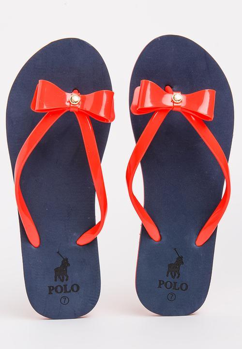 57a70501b Salma Jelly Flip-flops Navy POLO Sandals   Flip Flops