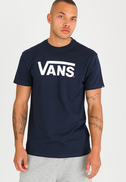cdb5fdcd Vans Classic T Shirt Navy