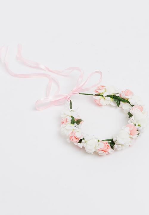 Flower Garland Headband White Pop Candy Accessories Superbalist