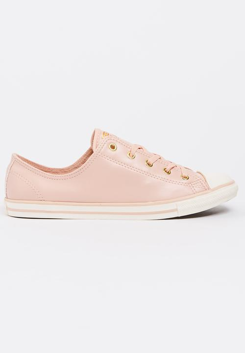 Chuck Taylor All Star Dainty - Ox Pale Pink Converse Sneakers ... 6c29f15ed4ff