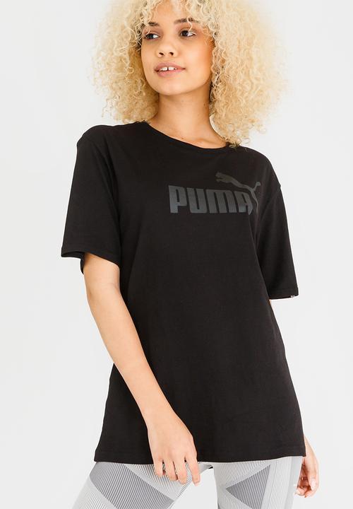 fbe87b06 ESS No.1 BF Tee Black PUMA T-Shirts | Superbalist.com