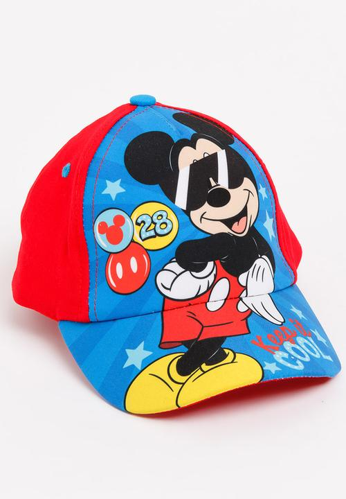 3f689447e0a37 Mickey Mouse Peak Cap Blue Character Baby Accessories