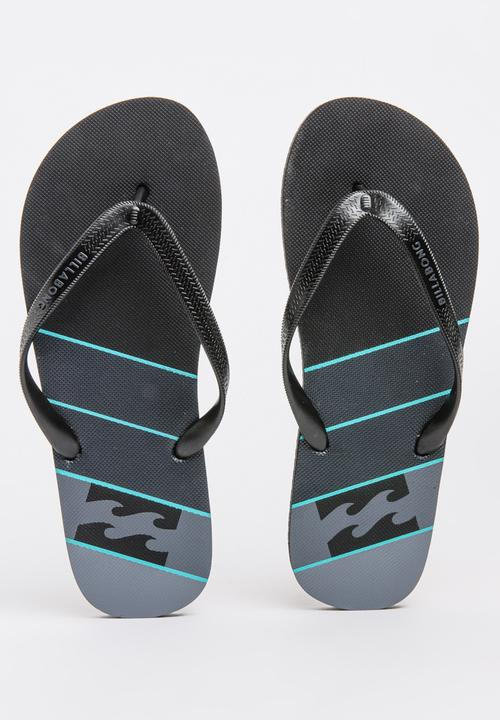 2e369608cb08c4 Northpoint Thong Black Billabong Sandals   Flip Flops