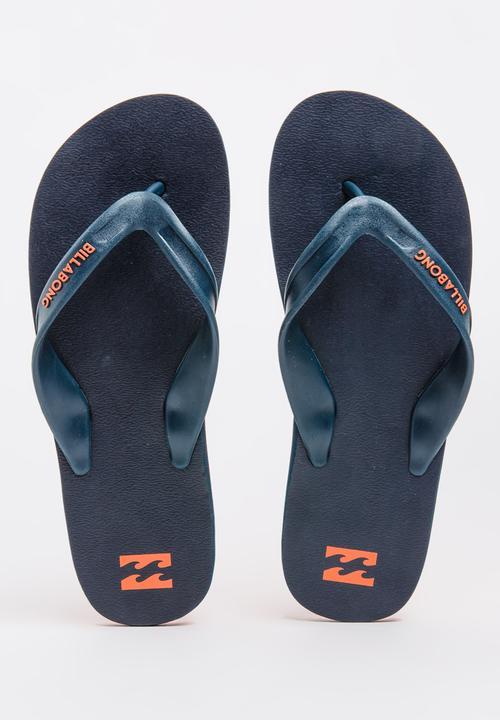 99ad7a2038e9 Cut It Thong Navy Billabong Sandals   Flip Flops