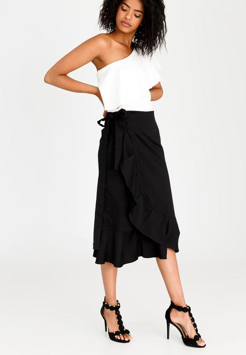 f97506a61296 Wrap Midi Skirt Black STYLE REPUBLIC Skirts | Superbalist.com