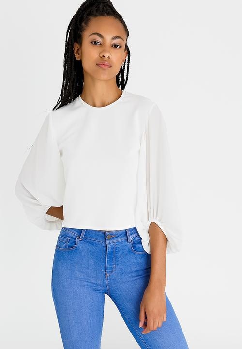 f21a2e0df7980 Open Back T-shirt White STYLE REPUBLIC T-Shirts, Vests & Camis ...