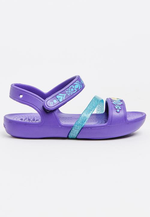 aa8cddc874fe Crocs Lina Frozen Sandal K Mid Purple Crocs Shoes