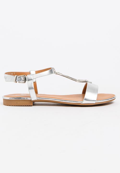 5b4efc80cb3d37 Christian Sandals Silver Butterfly Feet Sandals   Flip Flops ...