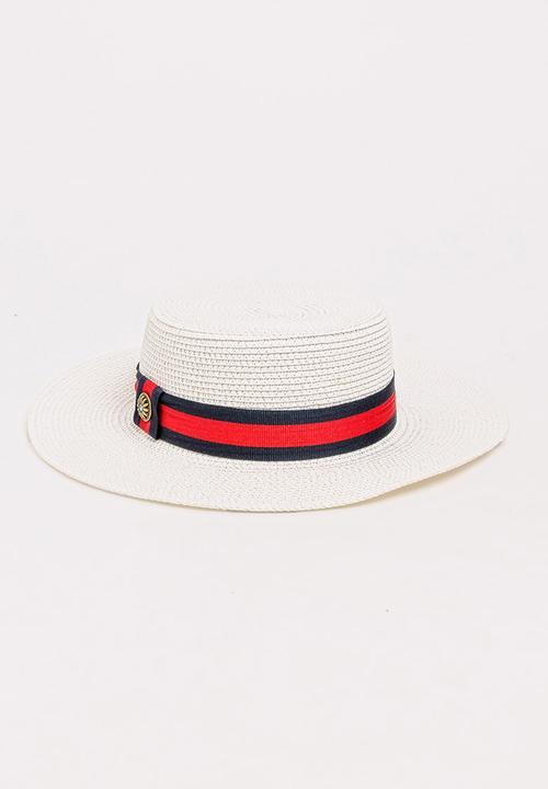 Straw Panama Hat White STYLE REPUBLIC Fashion Accessories ... 418fd526f35