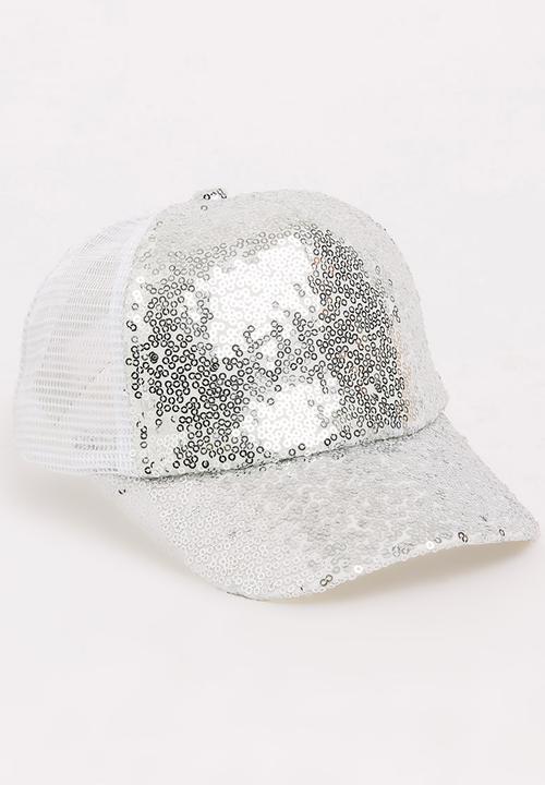 9b9d4b8c554e2c Sequin Cap Silver POP CANDY Accessories | Superbalist.com