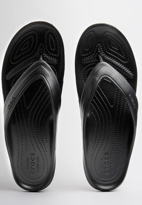 f0747fc85bf5 Classic Flip Flop Black Crocs Sandals   Flip Flops