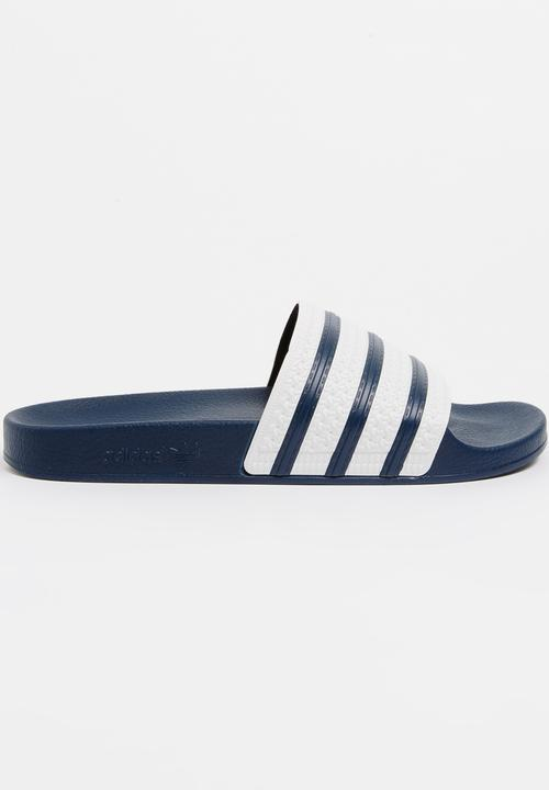 bee8bb3fd Adidas Adilette Flip Flops Blue adidas Originals Sandals   Flip ...