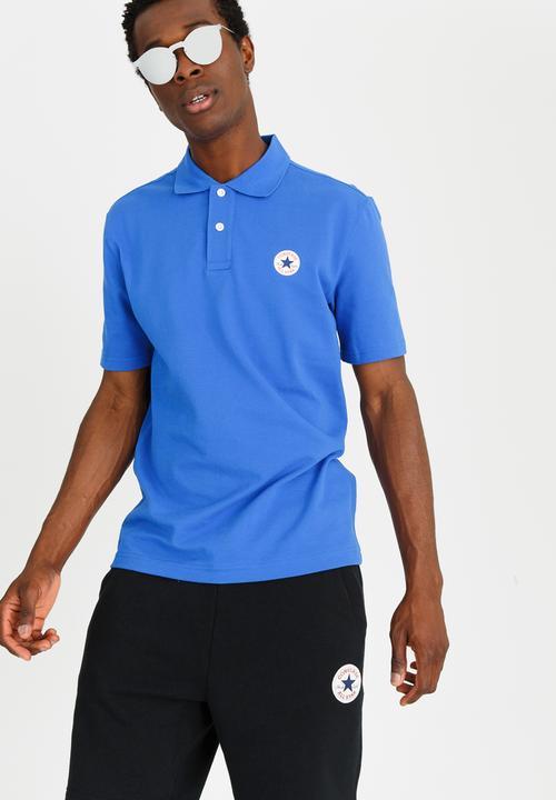 1557679bff3 Core Polo Blue Converse T-Shirts   Vests