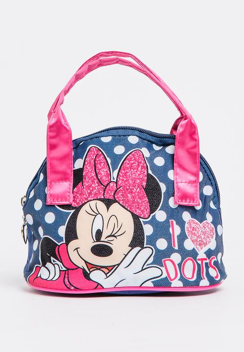Character Fashion Minnie Mouse Handbag Multi Colour