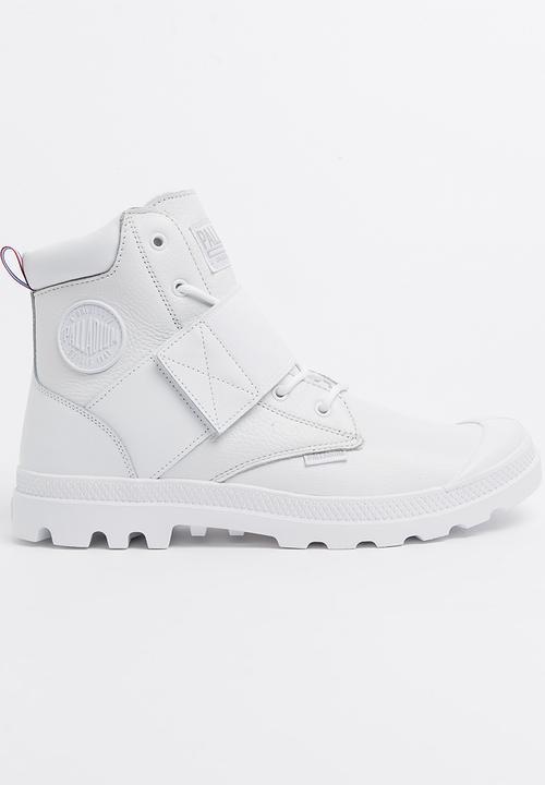 eb8346a656 Palladium Pampa Hi Strap Lea White Palladium Sneakers | Superbalist.com