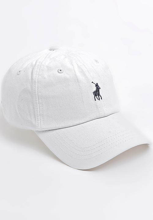 Parker Classic Peak Cap White POLO Headwear  5d42fcec9c9