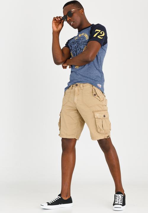 e226dc826e George Cargo Shorts Stone Brave Soul Shorts | Superbalist.com