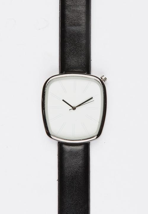 Square Face Watch Black Joy Collectables Watches Superbalist Com